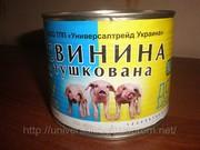 Продам свинину тушеную Премиум-класса
