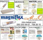 Безпружинные ортопедические матрасы в вакуумной упаковке Magniflex