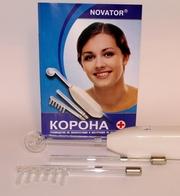 Дарсонваль КОРОНА- аппарат для местной дарсонвализации (3 электрода)