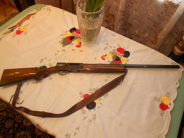 Гладкоствольное самозарядное ружье Браунинг Авто-5 / BrowningAuto.