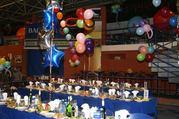 0666083841  Украшение детских праздников шарами,  яркими букетами из ша