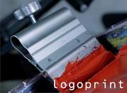 Печать по ткани - шелкография,  термопечать,  сублимация. Этикетка.