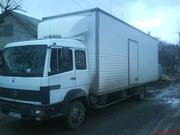 Перевозки крупногабаритных грузов  Мерседес 7тонн 60 куб м