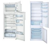 Встраиваемые холодильники,  двухкамерные,  морозильники от Bosch