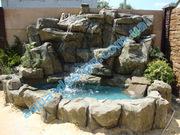 Декоративные водопады