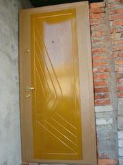 Входная утепленная металлическая дверь