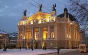 Новый год 2013 во Львове из Харькова