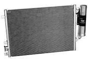 Радиатор охлаждения,  радиатор кондиционера,  печки,  вентиляторы