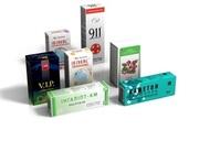 Картонная упаковка  в Харькове для лекарств и биодобавок,  лекарственных трав,  на чаи