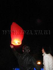 Сердечки для запуска,  небесные фонарики на праздник Святого Валянтина