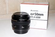 Продам объектив Canon EF 50 f/1.4 USM