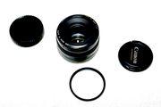 объектив Canon 50mm f/1, 4 со светофильром и крышками
