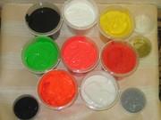 Продам краску пластизольную глиттер клей для столов