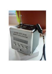 колонка - аккумуляторный FM приёмник + МР3