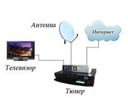 Антенны спутниковые и эфирные,  подключение к кардшаринговым системам.