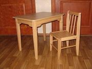 Новый детский комплект:стол+стул за 400 грн