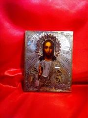 Икона Иисус Христос Вседержитель,  19 век