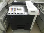 Продам цветной принтер  Konica Minolta Bizhub С353 А3