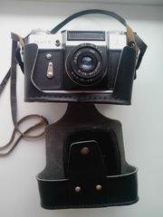 фотоаппарат Зенит-Е с логотипом олимпиады 1980-го года