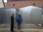 Изготовим гаражи,  лестницы и заборы