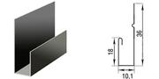 Металлическая J - планка - производство, продажа, монтаж.