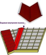Металлическая ендовая - производство, продажа, монтаж.