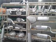 Глушитель,  резонаторы,  катализаторы,  выхлопные трубы для иномарок
