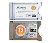 САМ модуль DVB-T2 фирм Strong и Romsat