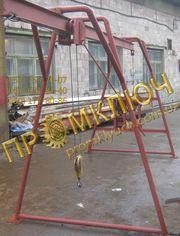 Кран-балки,  подъемники строительные,   лебедки,  МТМ,  тормоз колодочный