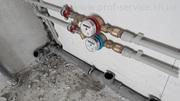 Сантехнические работы. Водопровод,  канализация,  отопление