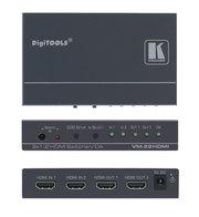 VM-22H Усилитель-распределитель 1:2 сигнала HDMI с коммутатором 2x1