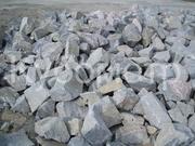 Бутовый камень размер 150- 450 мм с доставкой по Харькову и области.