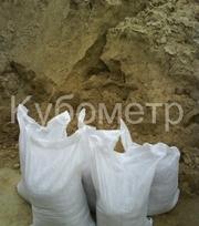 Песок в мешках с доставкой по Харькову и области.