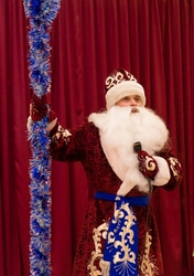 Новогодние поздравление Деда Мороза на дому. Харьков.