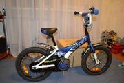 Продам велосипед - TREK - Jet 16,  бело-синий,  колеса 16¨