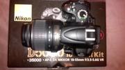 Продам фотоаппарат Nikon D5000 VR Kit 18-55