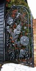 двери калитки кованые