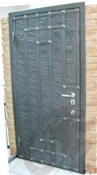 Кованые двери в дом