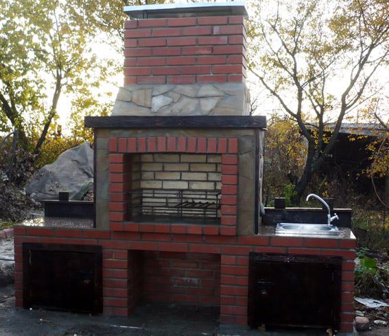 Построить печь-барбекю харьков гриль-барбекю своими руками