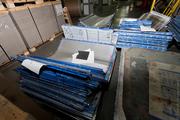 Организация покупает отработанные офсетные формы (пластины)
