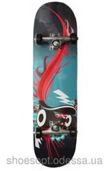Скейтборд/ скейт спортивный подростковый 79х20 см