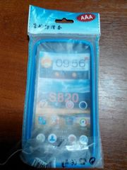Бампер для Lenovo S820 (Blue)