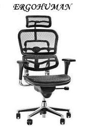 Новейшая разработка эргономичного кресла   ERGOHUMAN V2-H24 Net Black