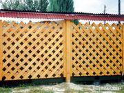 Декоративные деревянные ограждения в Харькове