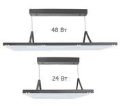 Подвесные светодиодные светильники 24 и 48 Вт