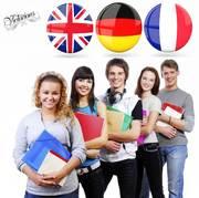 Курсы Viсtorious - английский,  немецкий,  французский языки..