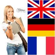 Курсы Victorious- английский,  немeцкий,  французский языки.