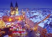 Новый Год,  Рождество в Праге  из Харькова!!!
