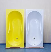 Реализуем ванны композитные стеклопластиковые прямоугольные 150x70 см