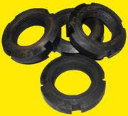 Продам гайку круглую шлицевую DIN 981